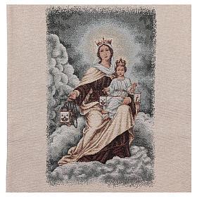 Coprileggio Madonna del Carmelo color avorio s4