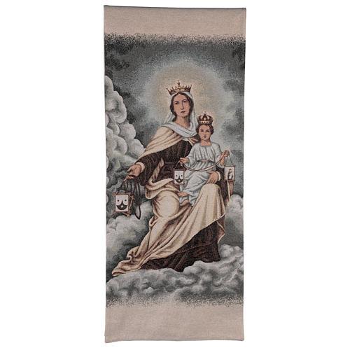 Coprileggio Madonna del Carmelo color avorio 1