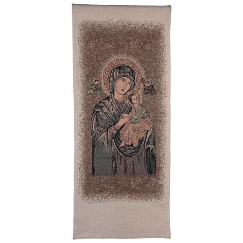 Paño de atril Virgen del Perpetuo Socorro 1