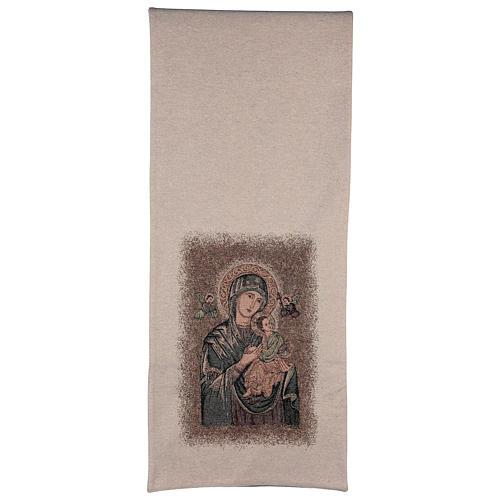 Paño de atril Virgen del Perpetuo Socorro 3
