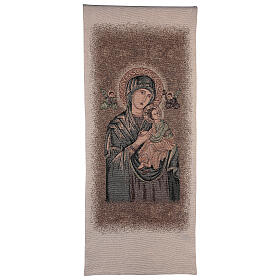 Pulpit cover dedicated to Our Lady of Perpetual Help s1