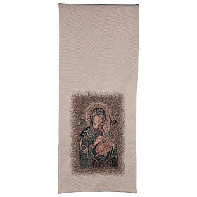 Pulpit cover dedicated to Our Lady of Perpetual Help s3