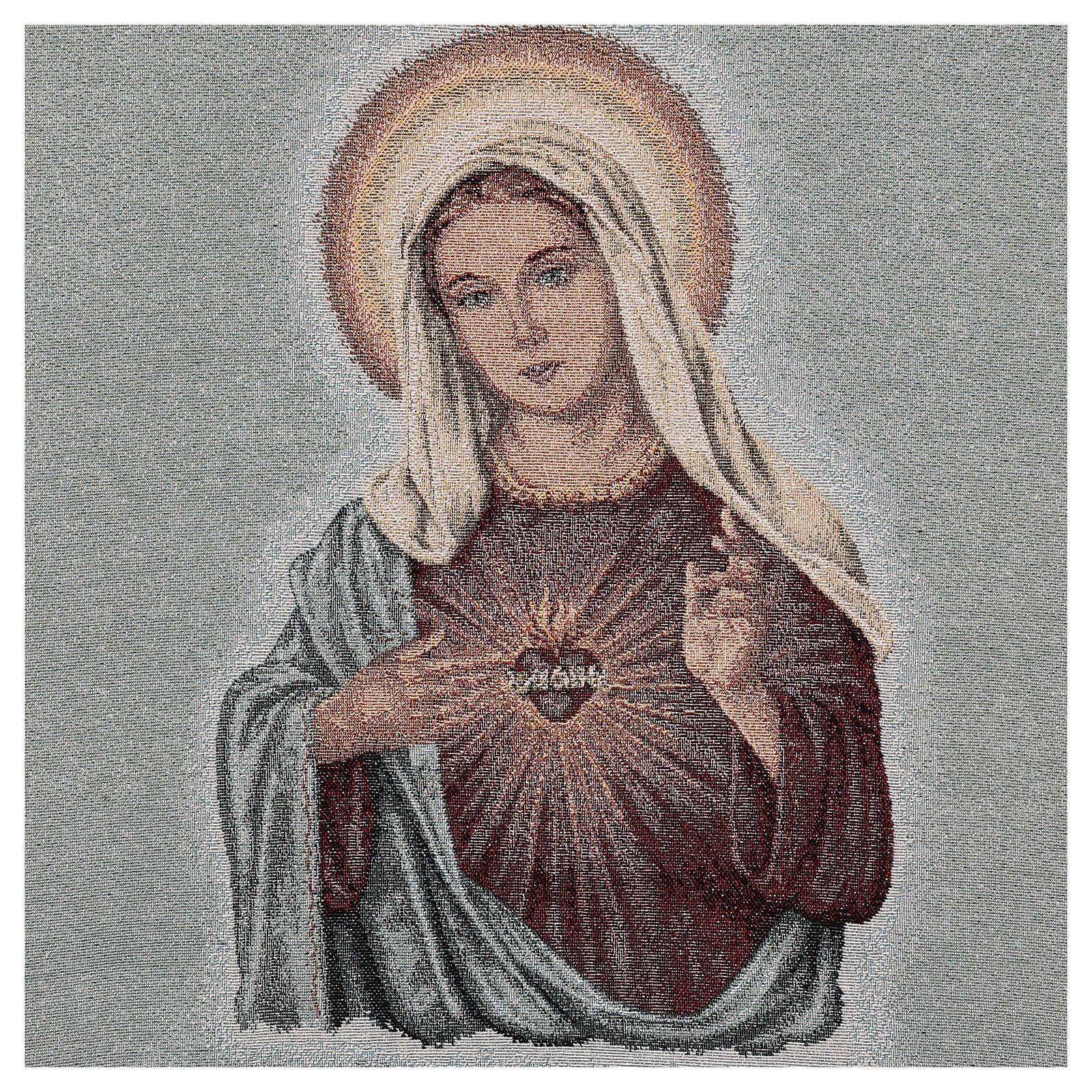Paño de atril Sagrado Corazón de María 4