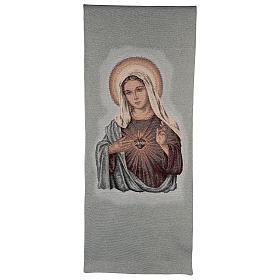 Paño de atril Sagrado Corazón de María s1