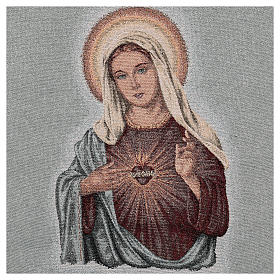 Paño de atril Sagrado Corazón de María s4
