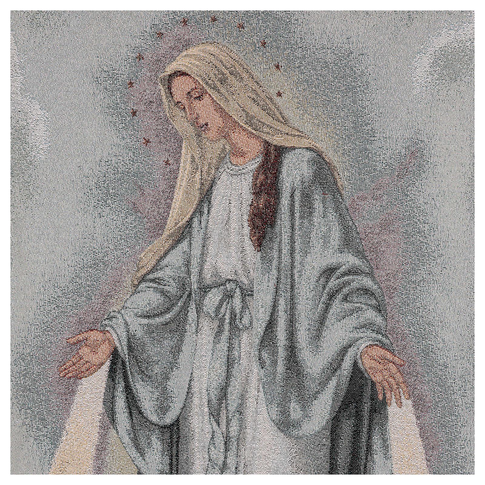Paño de atril Virgen Misericordiosa 4