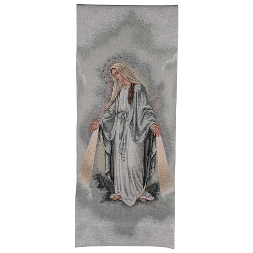 Paño de atril Virgen Misericordiosa 1