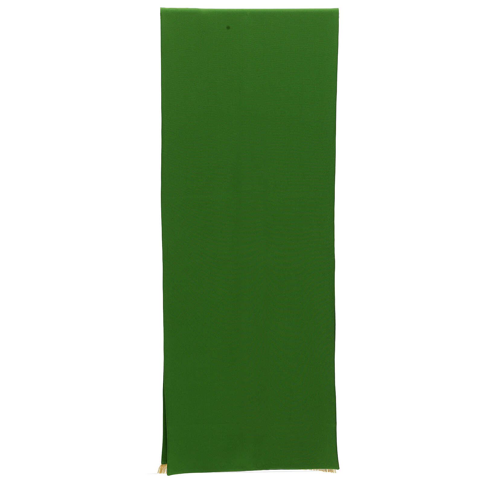 Paño de atril 100% poliéster bordado Tau 4 colores 250x50 4