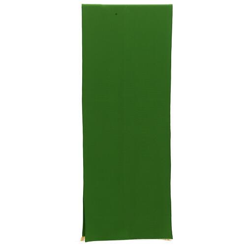 Paño de atril 100% poliéster bordado Tau 4 colores 250x50 3
