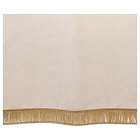 Voile de lutrin marial broderie satin 100% polyester s3