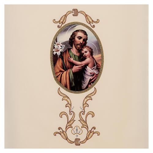 Paño de atril San José colores litúrgicos 100% poliéster 2