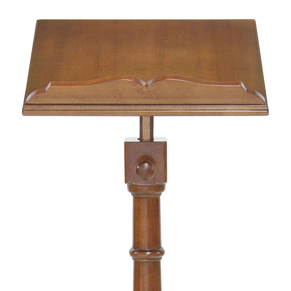 Wood lectern classic style 4