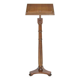 Wood lectern classic style s1
