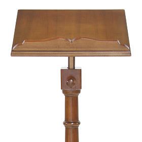 Wood lectern classic style s2