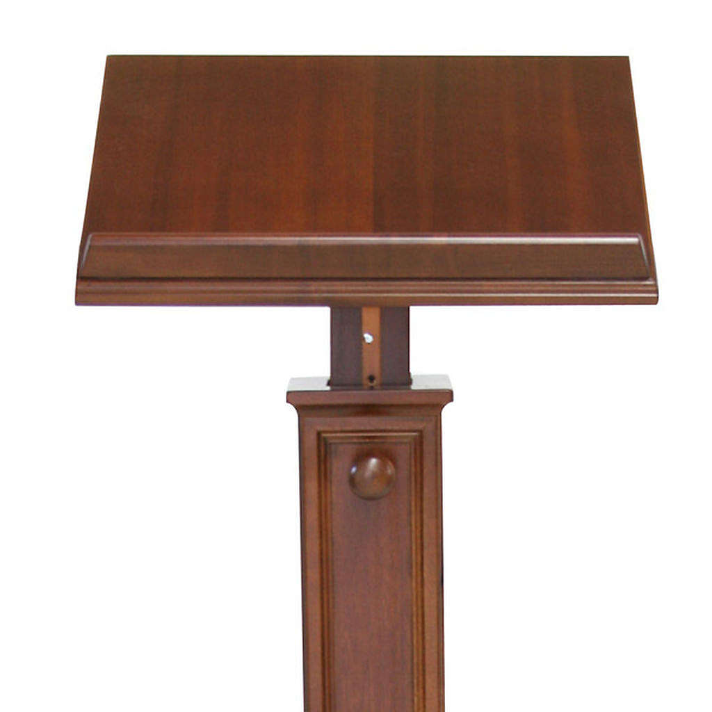 Modern style wood lectern 4
