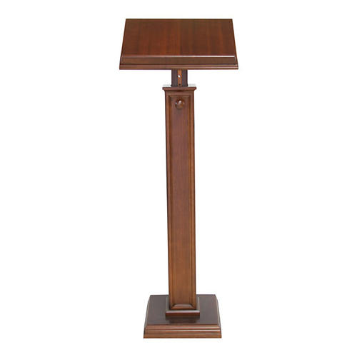 Modern style wood lectern 1