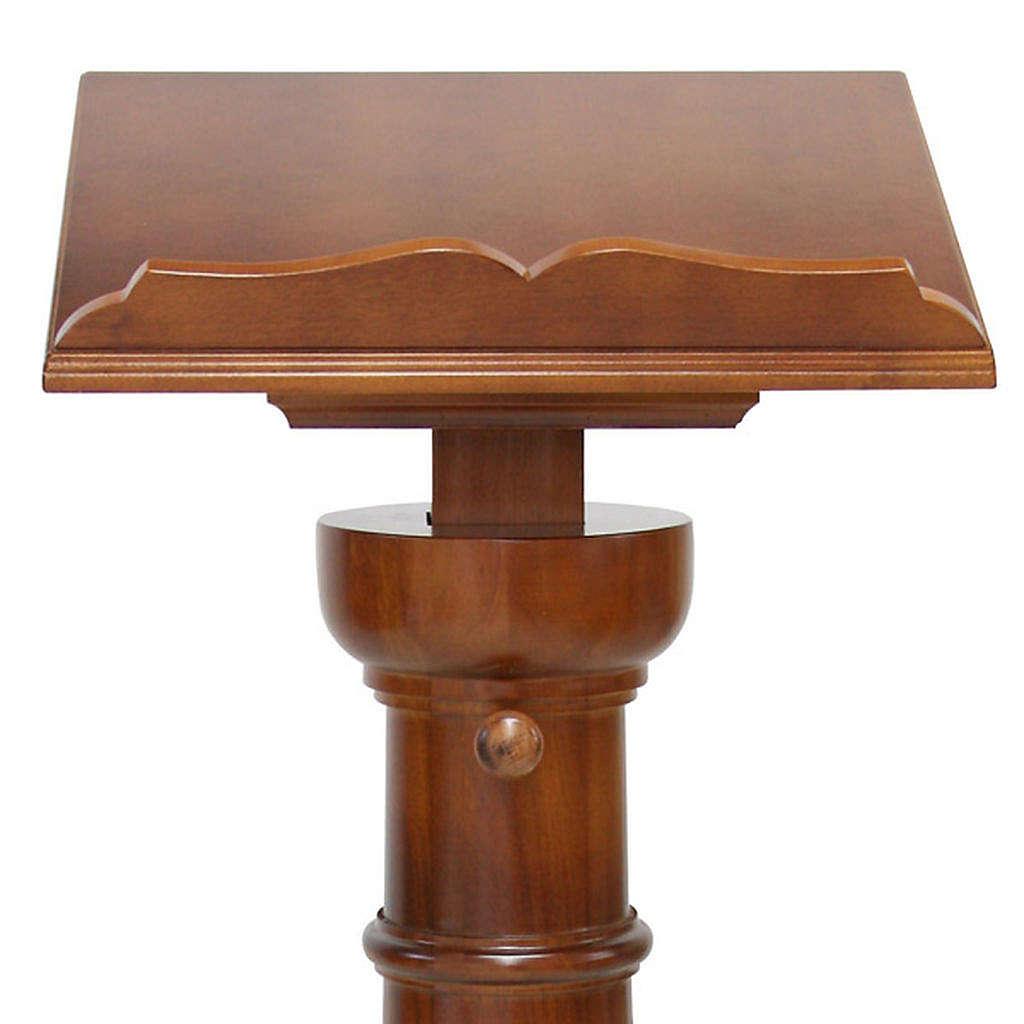 Classic pedestal lectern 4