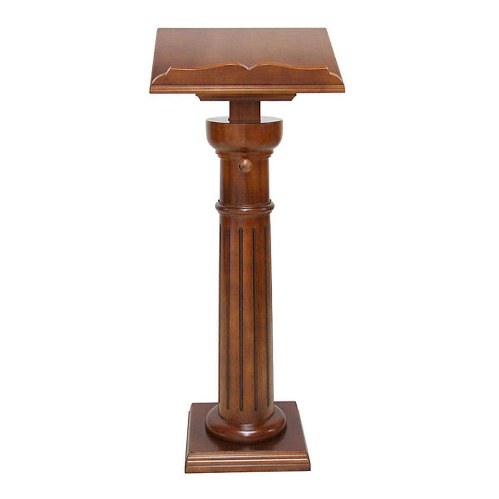 Atril clásico mono columna 4