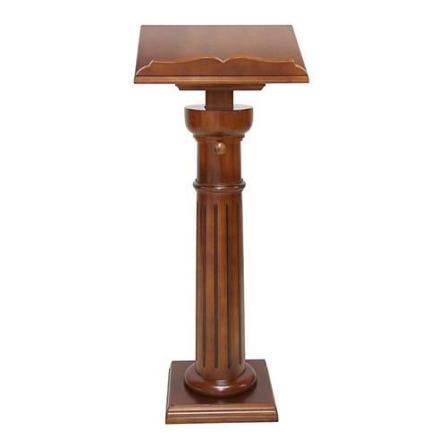 Atril clásico mono columna 1