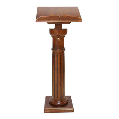 Classic pedestal lectern 1
