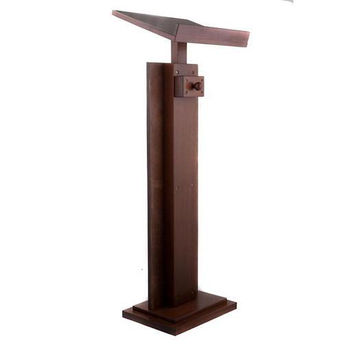 Atril de madera Cristo Pantocrátor 5