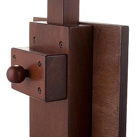 Ambone legno Cristo Pantocratore s3