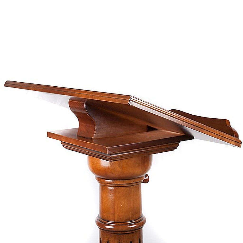 Lectern in wood 70 x 45 cm 4
