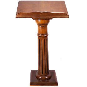 Lectern in wood 70 x 45 cm s1