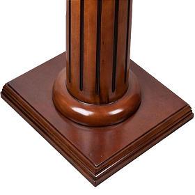 Lectern in wood 70 x 45 cm s3