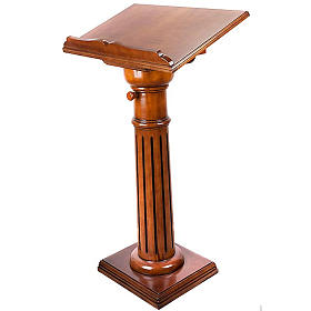 Lectern in wood 70 x 45 cm s4