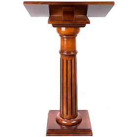 Lectern in wood 70 x 45 cm s6