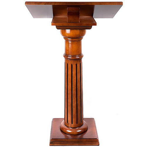 Lectern in wood 70 x 45 cm 6