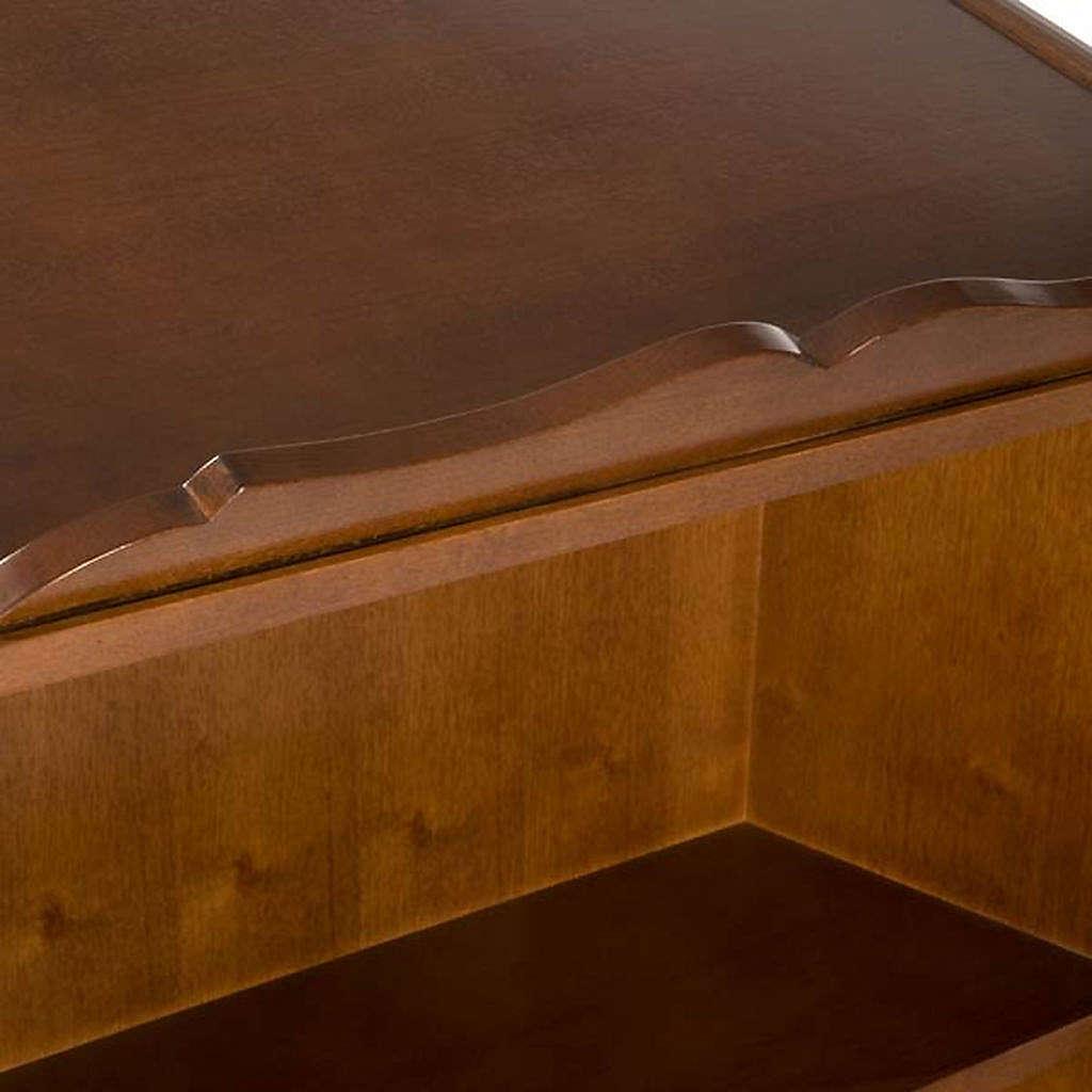 Ambone legno di noce simboli 4 evangelisti 4