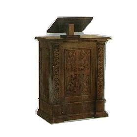Ambona lite drewno rzeżbione ręcznie 126x85x45 s1