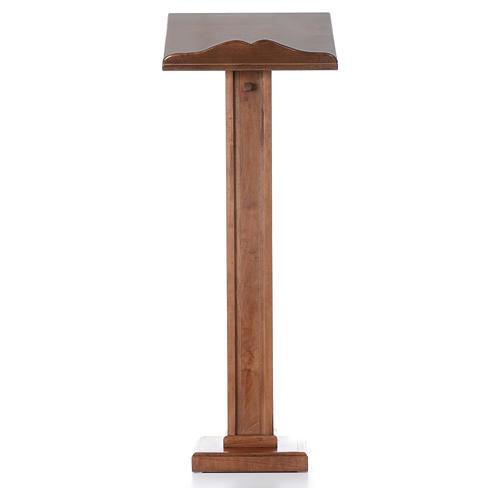 Leggio a colonna legno altezza regolabile 120x45x34 cm 1