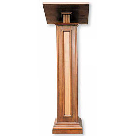 Lectern in wood H130cm s1