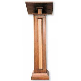Atril de pie de madera, mide 130cm s1