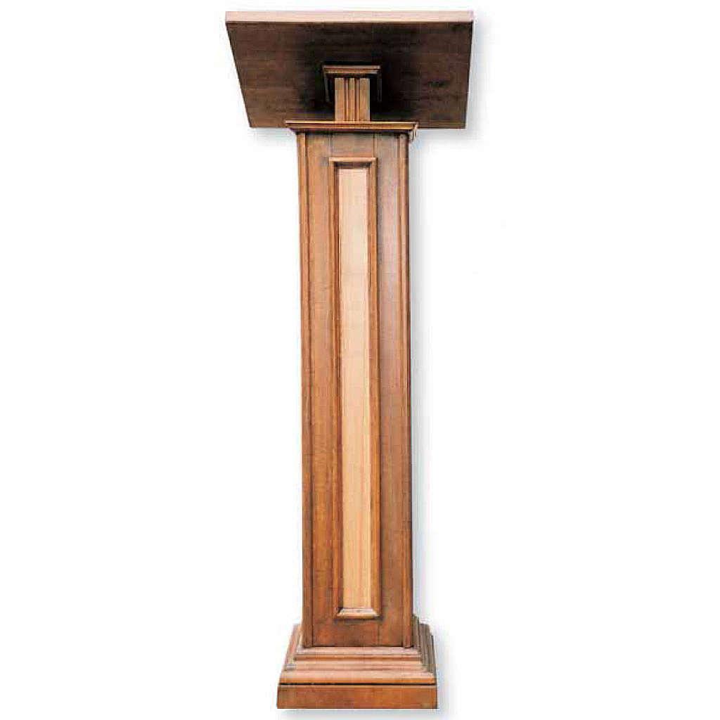 Leggio a colonna in legno cm 130 4