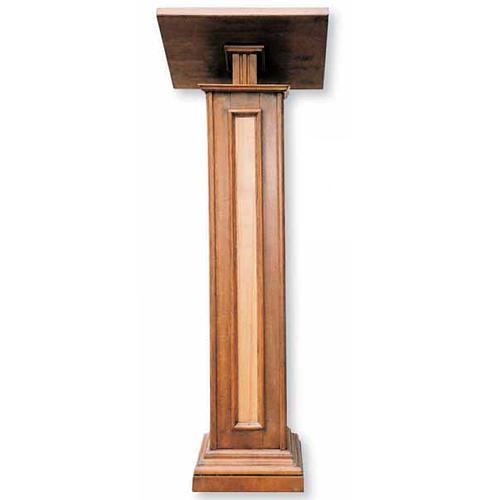Leggio a colonna in legno cm 130 1