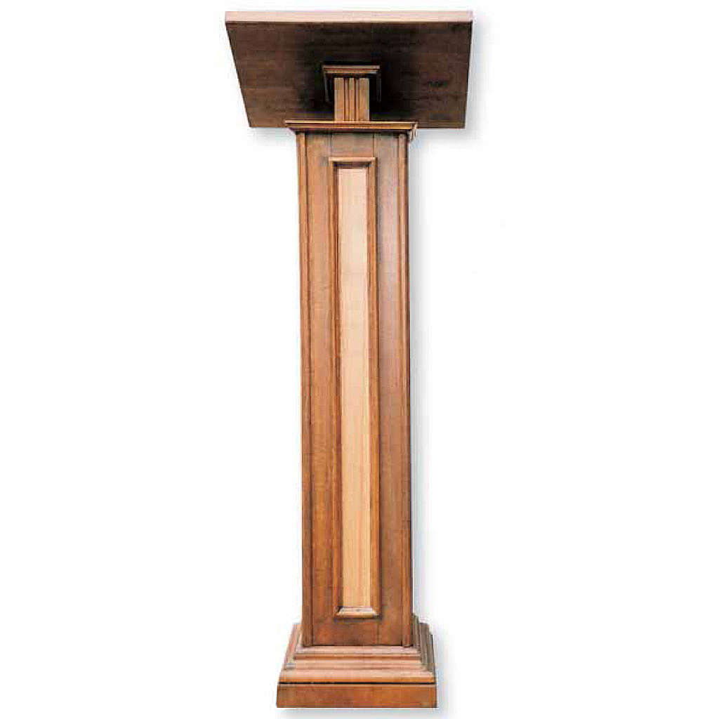 Lectern in wood H130cm 4