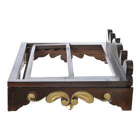 Leggio da tavolo legno stile settecentesco 40x30 cm s5