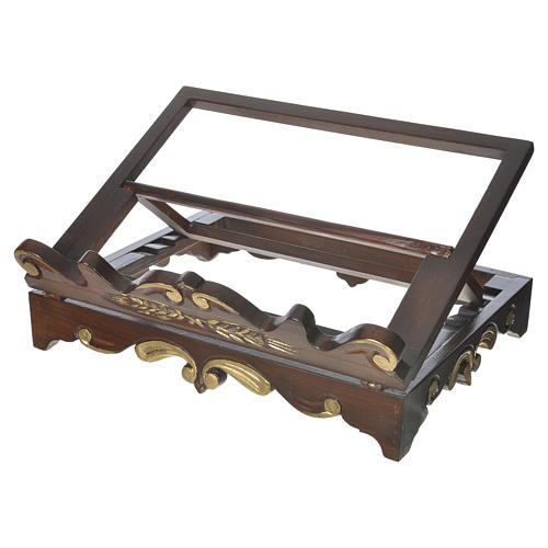 Leggio da tavolo legno stile settecentesco 40x30 cm 1