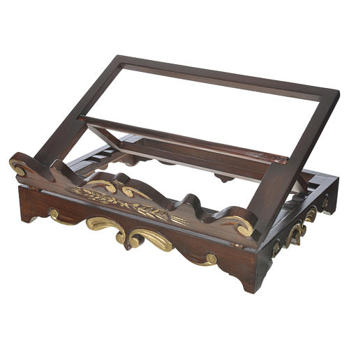 Pulpit na stół drewno styl XVII wiek 40x30 cm 1