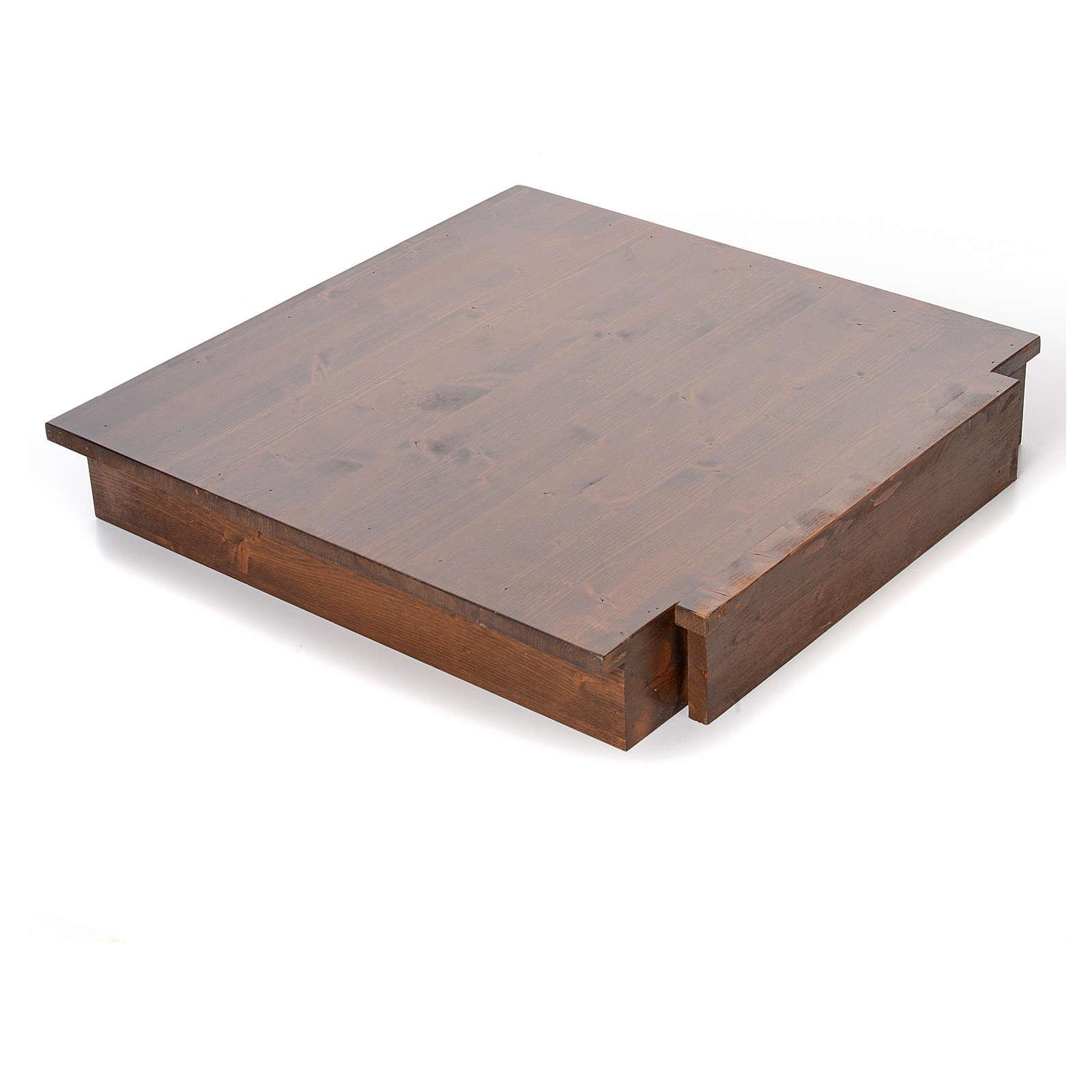 Estrade En Bois Occasion ambon en bois massif avec estrade 135x66x50 cm | vente en