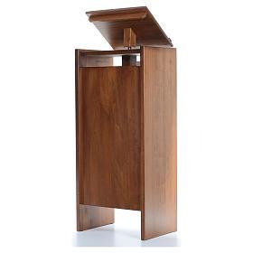 Ambón de madera maciza, con altura regulable 130x50x35cm s2