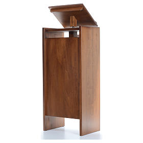 Ambo in solid wood, adjustable height 130x50x35 cm s2