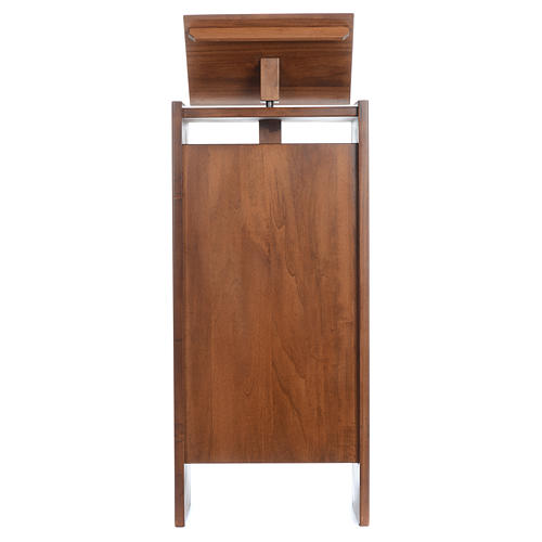 Ambo in solid wood, adjustable height 130x50x35 cm 1