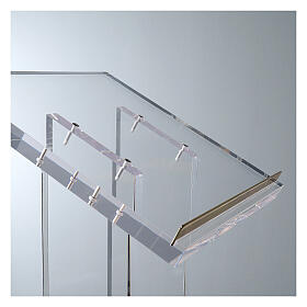 Molina lectern in perspex s3