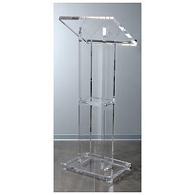 Molina lectern in perspex s6