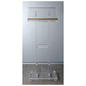 Molina lectern in perspex s4
